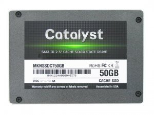 Catalyst Cache SSD 50GB